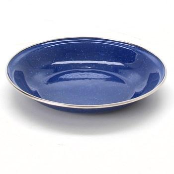 Cestovní talíř Relags průměr 20 cm modrý