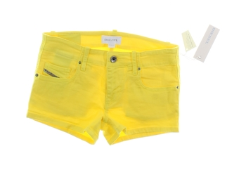 Dětské letní šortky Diesel žluté