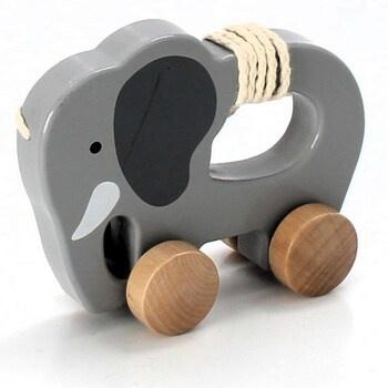Tahací zvířátko Hape E0908 Slon