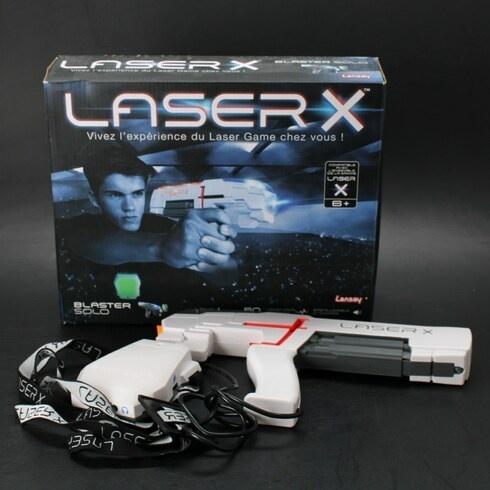 Laserová pistole Laser X bílá
