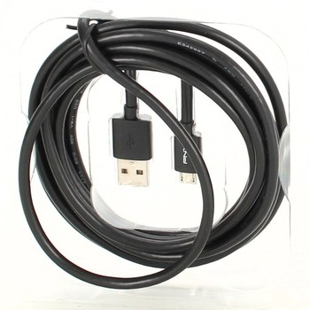 USB/micro USB kabel PNY 3 m
