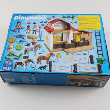 Stavebnice Playmobil 6927 Farma pro poníky