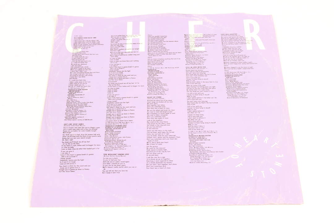 Gramofonová deska Cher - Heart of Stone