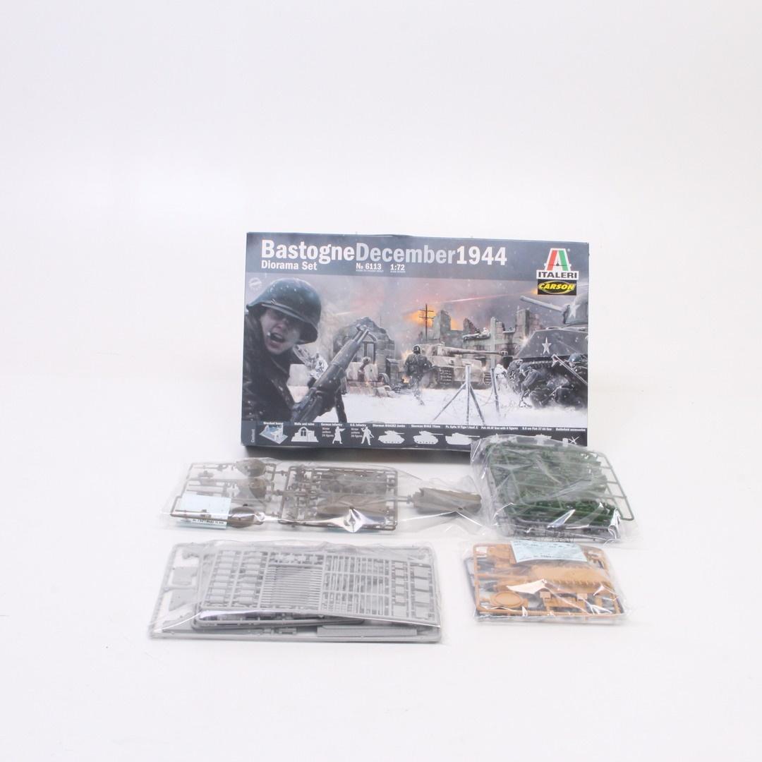 Model bojiště Italeri 1:72 Bastogne