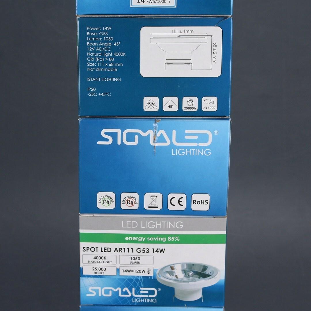 Bodová svítidla Sigmaled AR111 LED