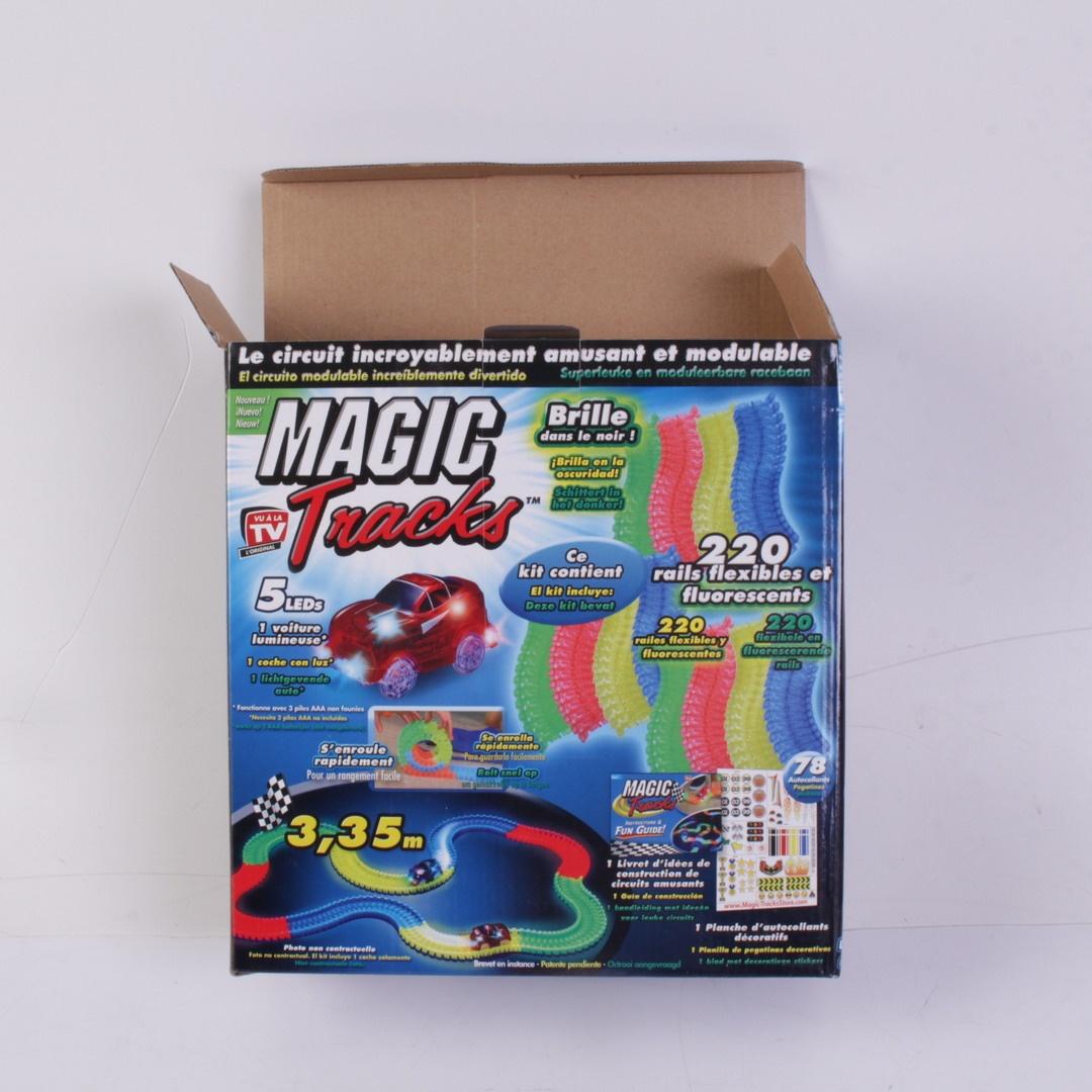Svítící autodráha Magic Tracks II