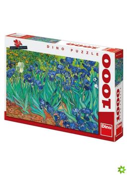 Puzzle DINO Vincent Van Gogh - Kosatce