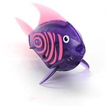Robotická rybička Hexbug fialová