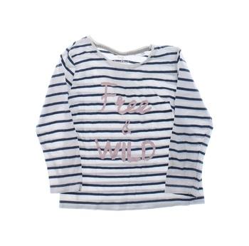 Dětské triko Lupilu pruhované s potiskem