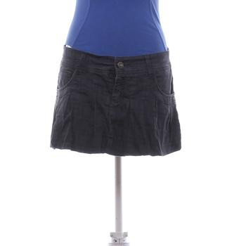 Dámská mini sukně Fishbone šedá