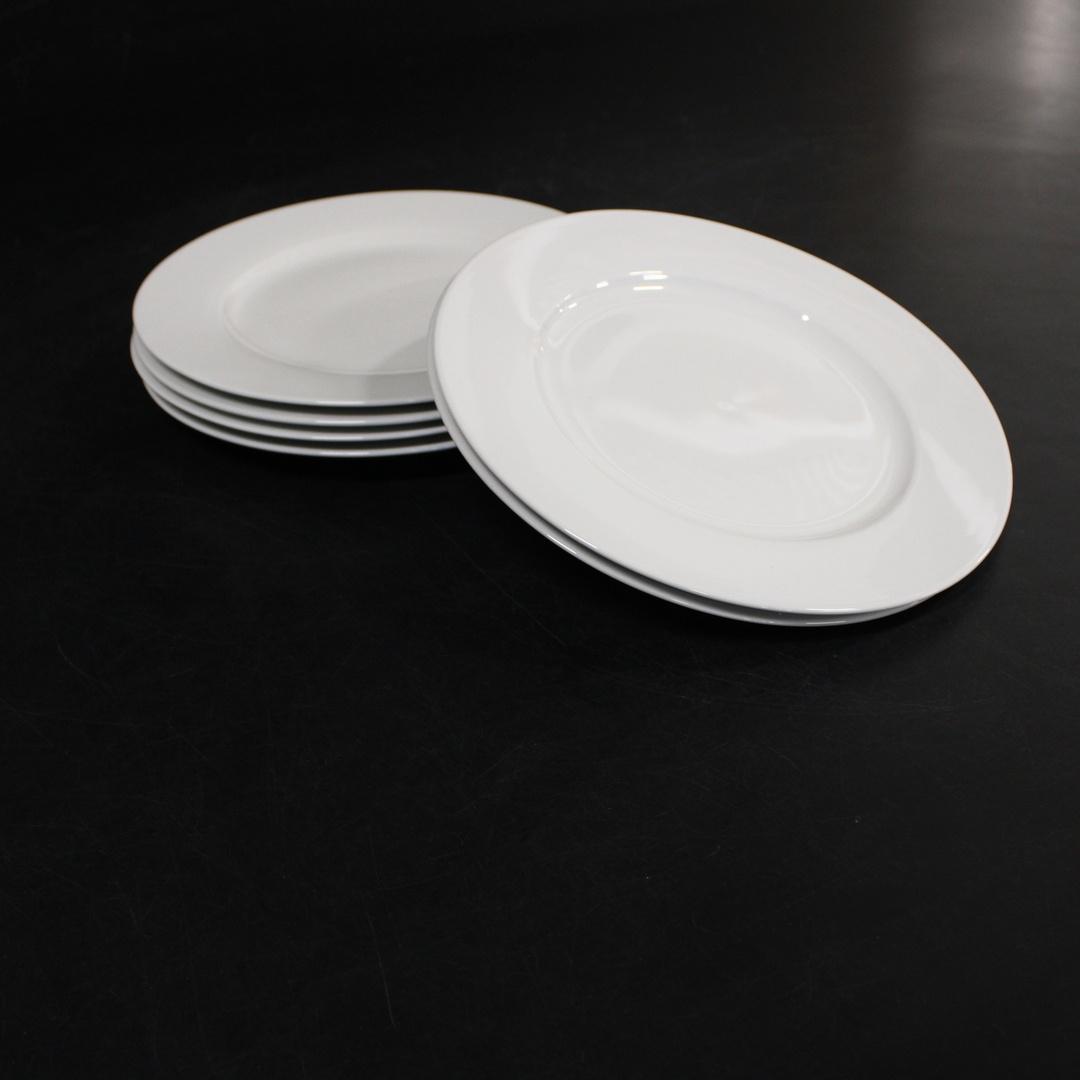 Sada talířů Amazon Basics CX01AG bílé