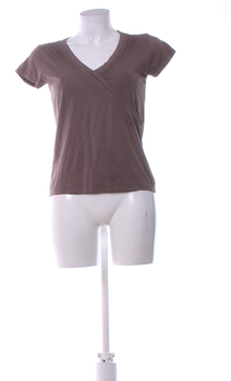 Dámské tričko BHS hnědé barvy