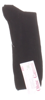 Pánské ponožky černé bez gumy