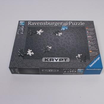 Puzzle krypt Ravensburger 15260 černý