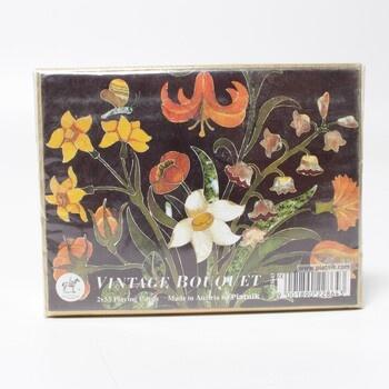 Kanasta Piatnik Vintage Bouquet
