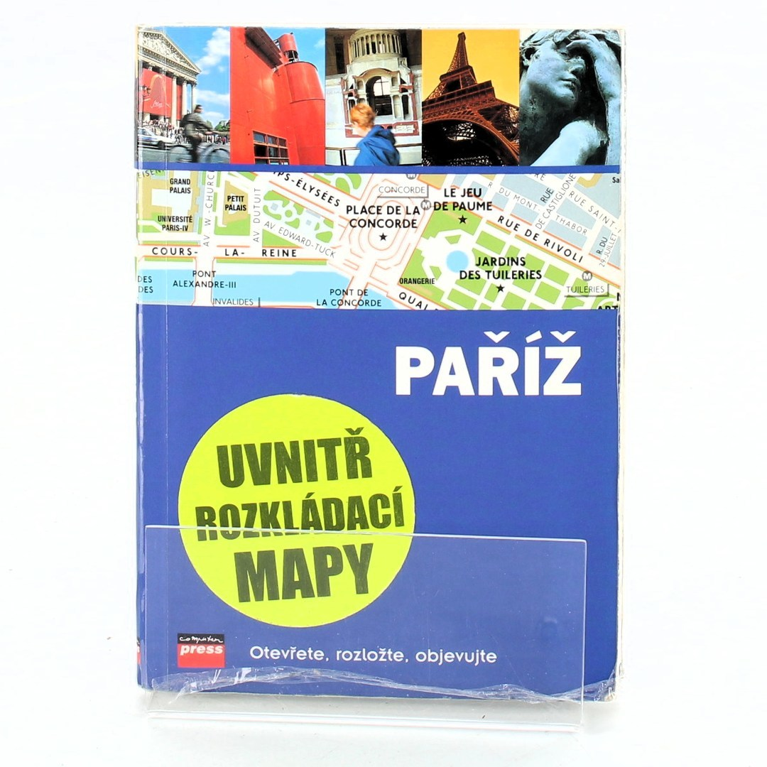 Kolektiv: Paříž - otevřete, rozložte