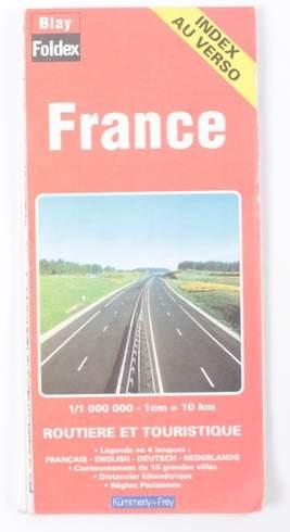 Turisticka Mapa Francie Bazar Odkarla Cz