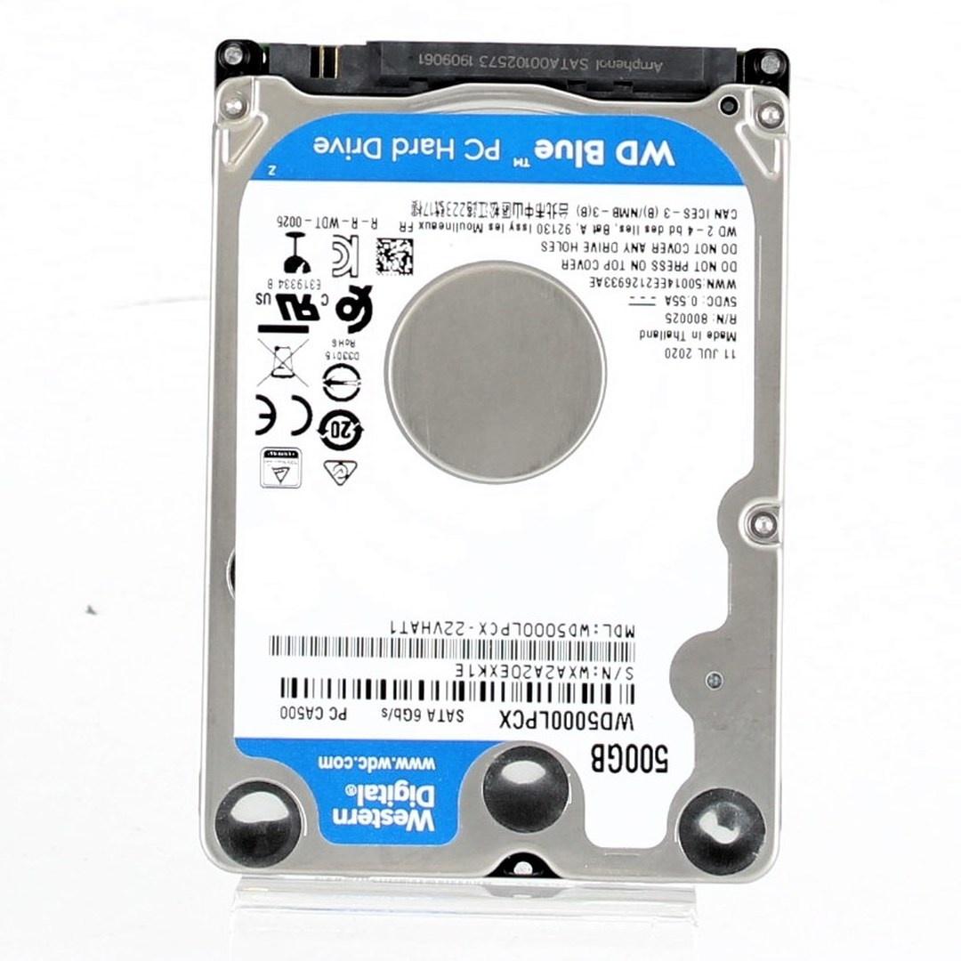 Pevný disk Western Digital WD5000LPCX