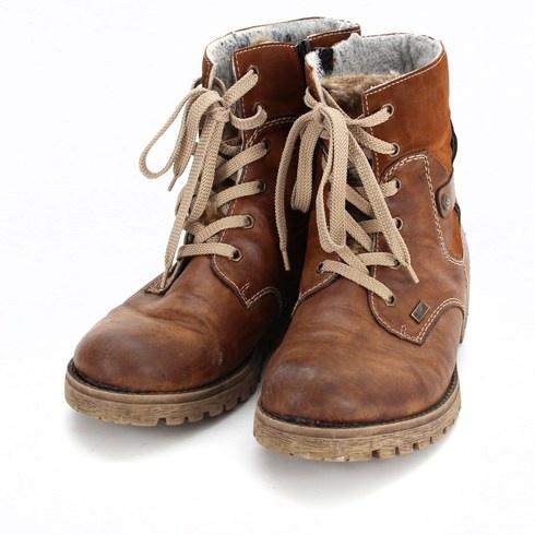 Dámské zimní boty značky Rieker