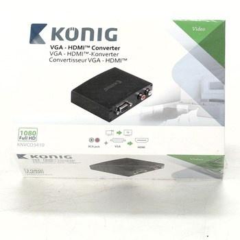 Konvertor König KNVCO3410 VGA - HDMI
