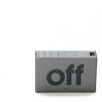 Digitální budík Lexon FLIP+ šedý
