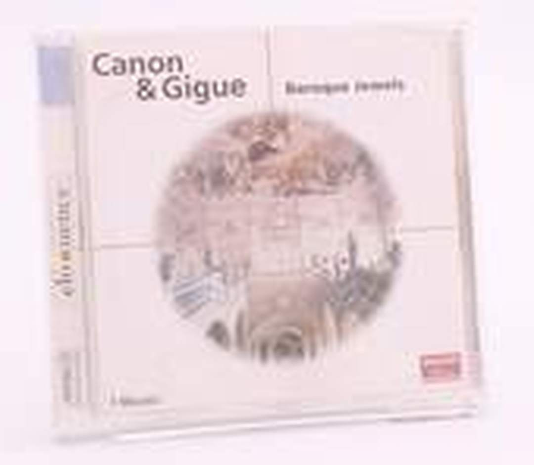 CD Canon & Gigue - Baroque Jewels