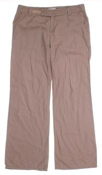 Dámské plátěné kalhoty TopShop béžová