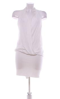 Dámské elegantní šaty s.Oliver bílé