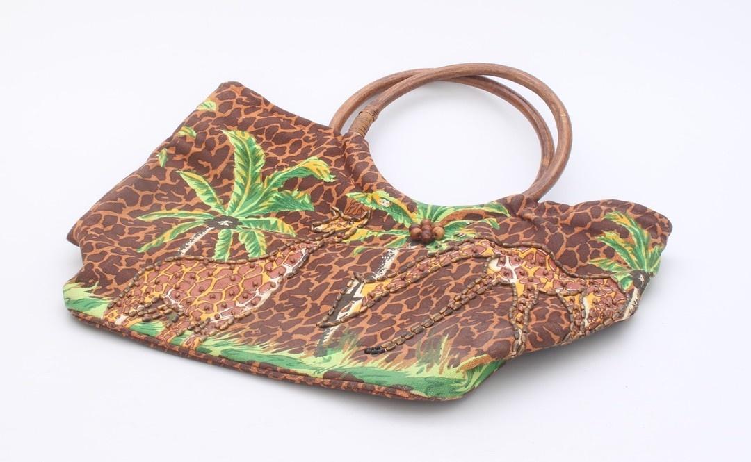 Dámská kabelka do ruky, hnědá