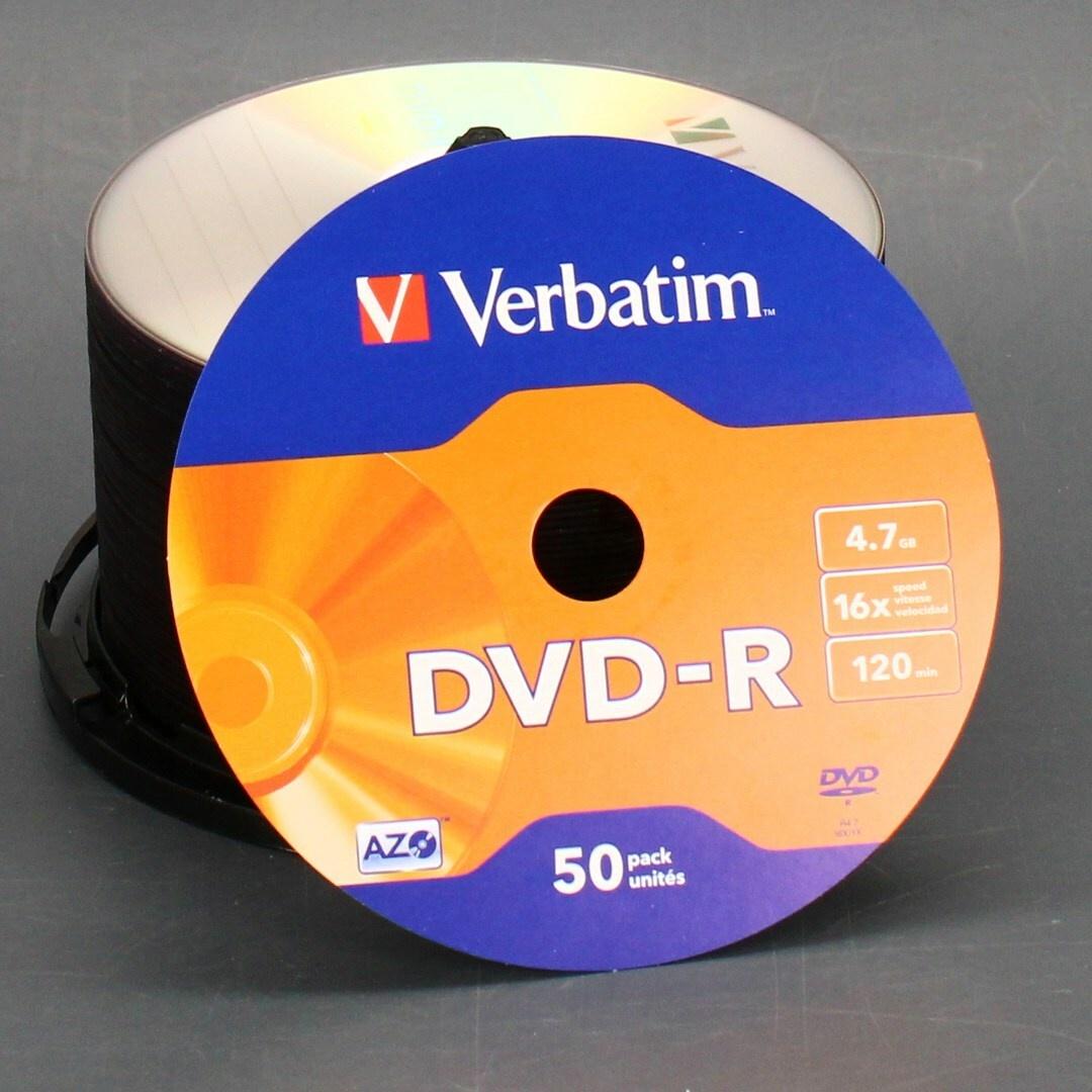 Balení DVD-R Verbatim DVD-R 16x