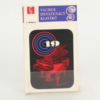 Brožura Devatenáct klavírů Emil Vachek