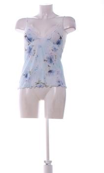 Dámská košilka Jane s modrými květinami