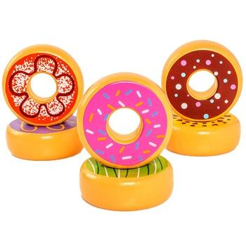 Dřevěné jídlo Viga donuty