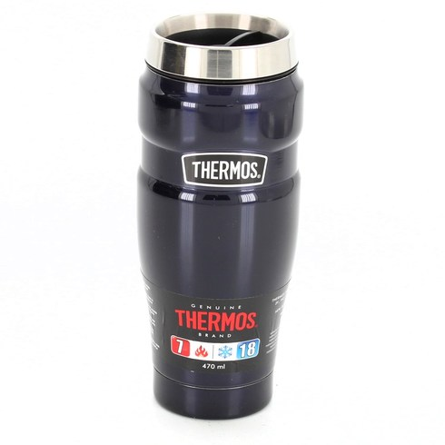 Tmavě modrá termoska Thermos 470 ml
