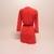 Dámské šaty Selected 16064857 červené