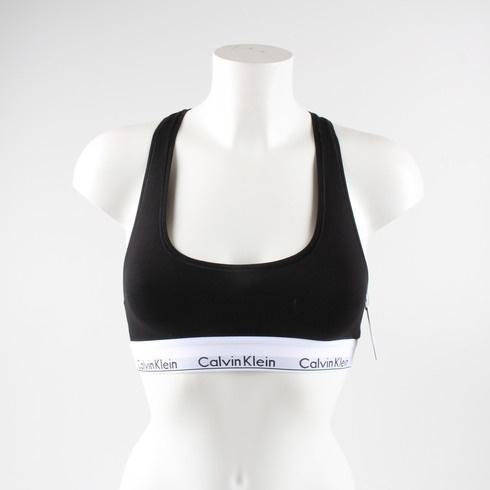 Sportovní podprsenka Calvin Klein černá