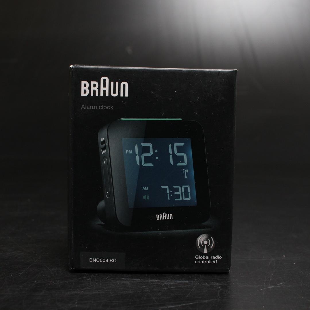 Digitální budík Braun BNC009RC bílý