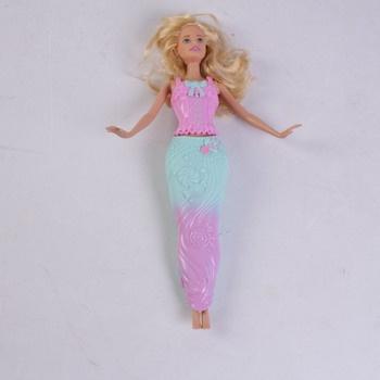 Barbie Dreamtopia v modro růžových šatech