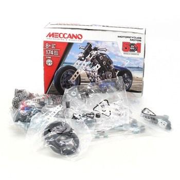 Stavebnice Meccano 17202 model motocyklu