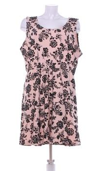 Dámské šaty Limited růžovočerné