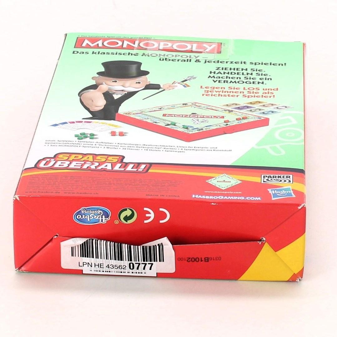Cestovní hra Hasbro Monopoly Reisspel