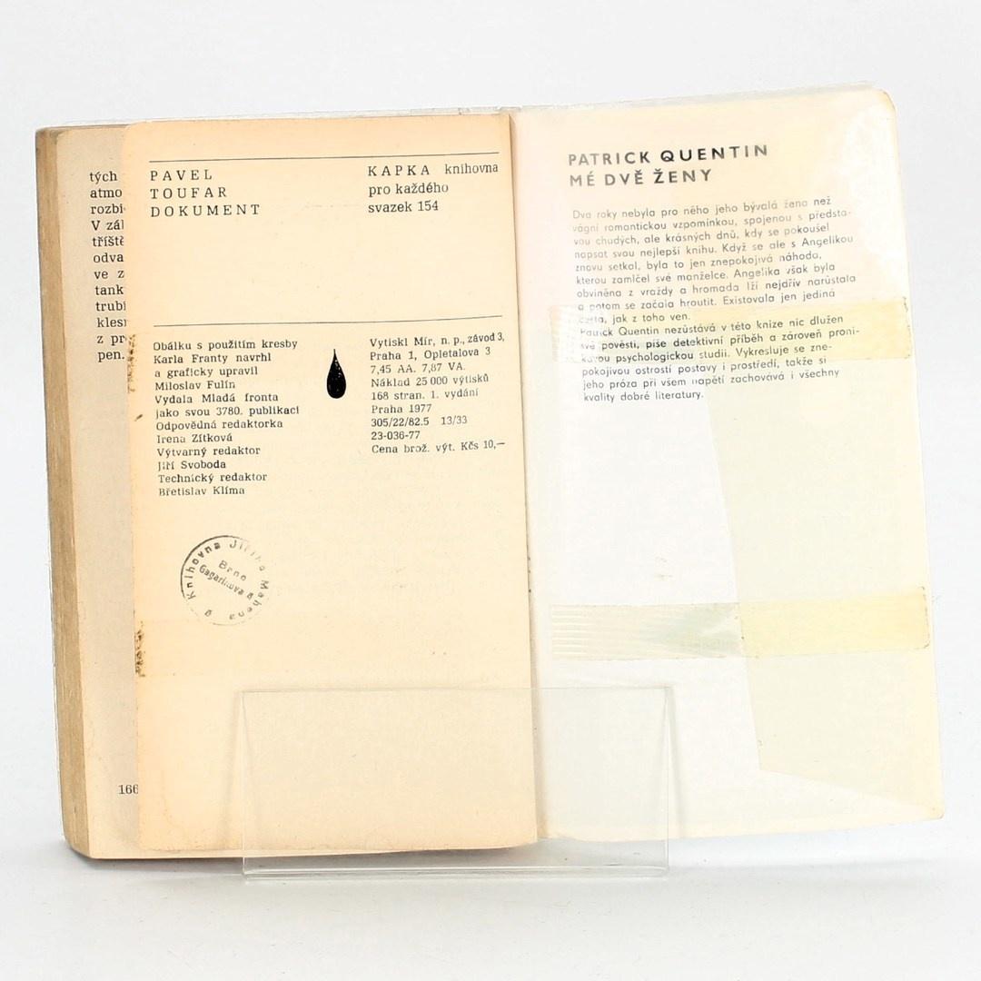 Kniha Pavel Toufar: Dokument