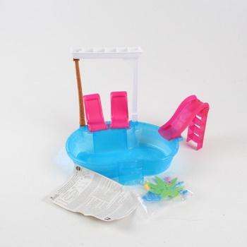 Bazén pro panenky Barbie plastový