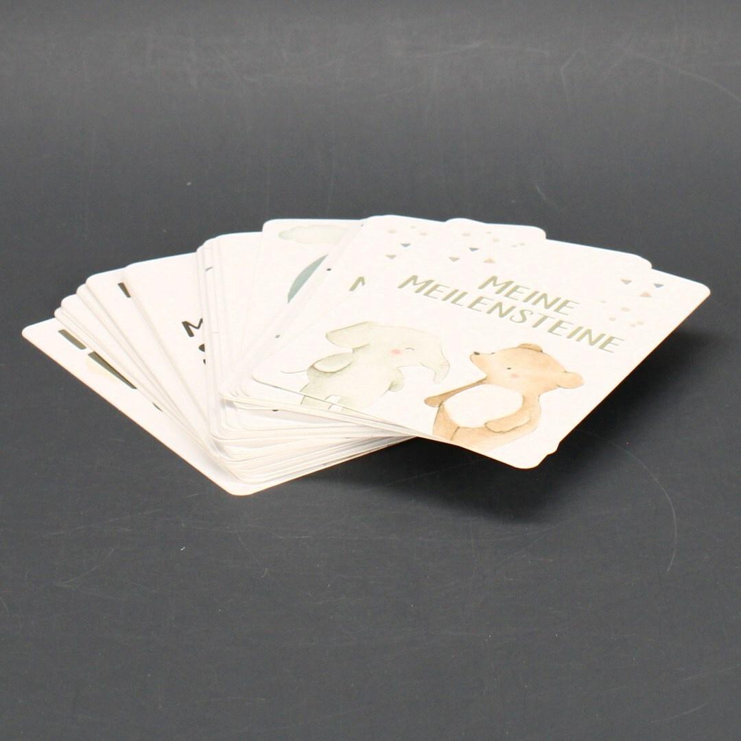 Sada 45ks upomínkových karet Olgs
