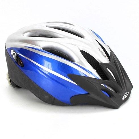 Dětská helma KED modrobílá