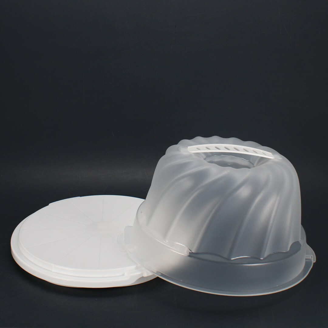 Dóza Rotho 17211 Round White Plastic