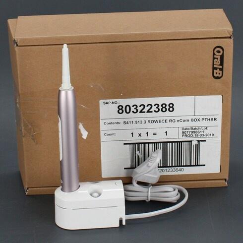 Elektrický zubní kartáček Oral-B 3747 růžový