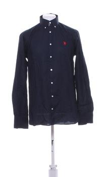 Pánská košile U.S. Polo Assn. tm. modrá L