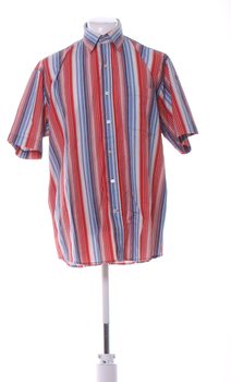 Pánská košile Biaggini červenomodrá
