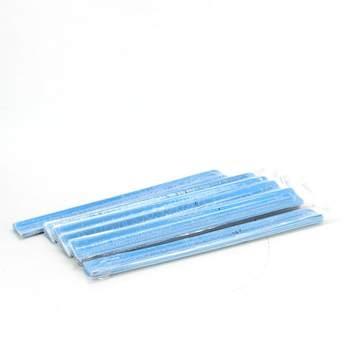 Reflexní upínací náramek modrý